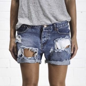 One Teaspoon Chargers Shorts